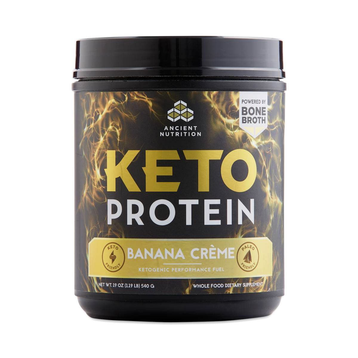 Keto Protein Banana Cr 232 Me By Ancient Nutrition Thrive Market