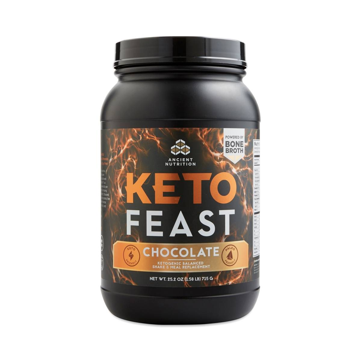 Ancient Nutrition Keto Feast Chocolate Thrive Market