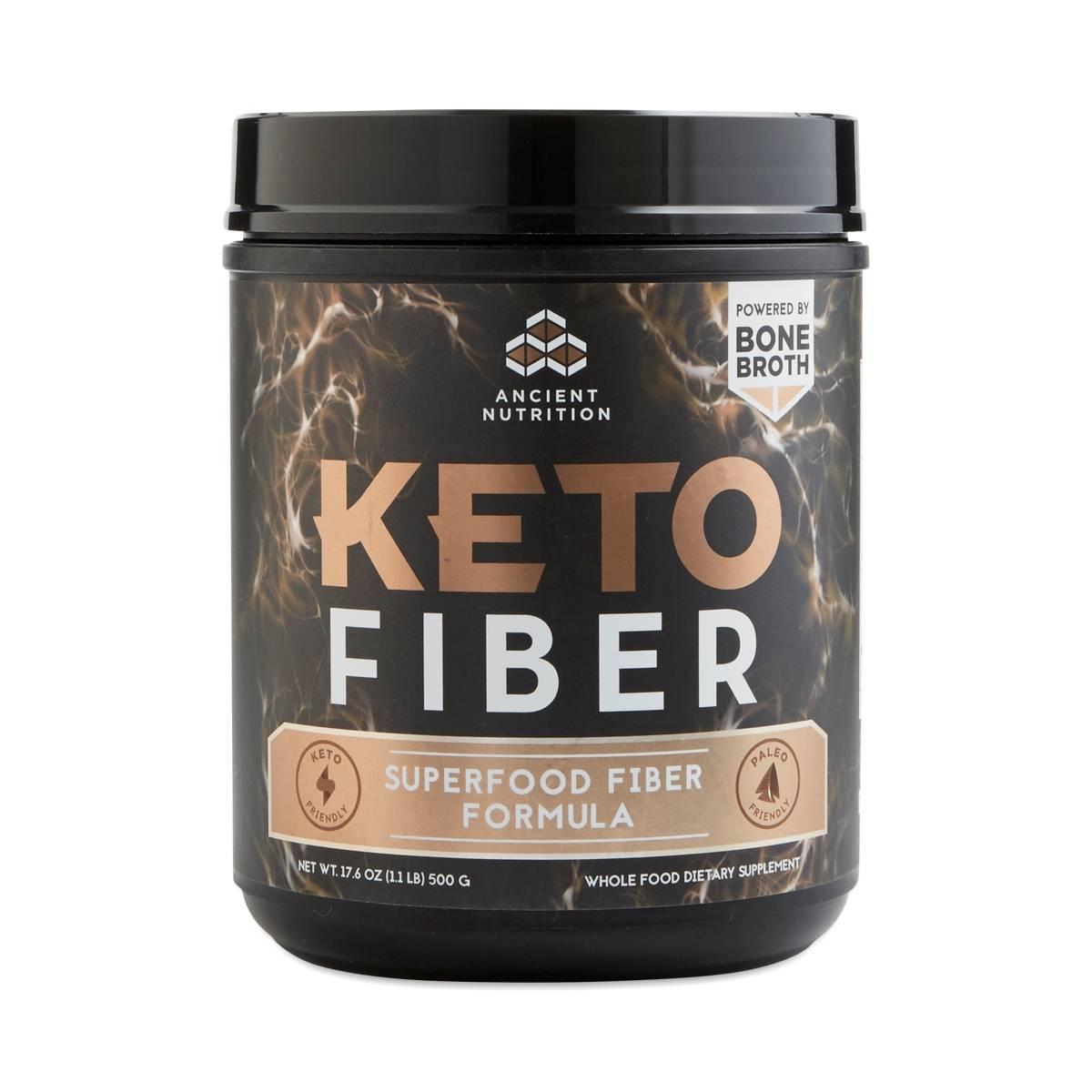 Keto FIBER Superfood Fiber Formula by Ancient Nutrition ...