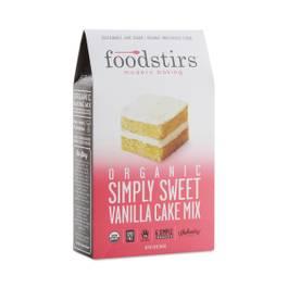 Organic Simply Sweet Vanilla Cake Mix