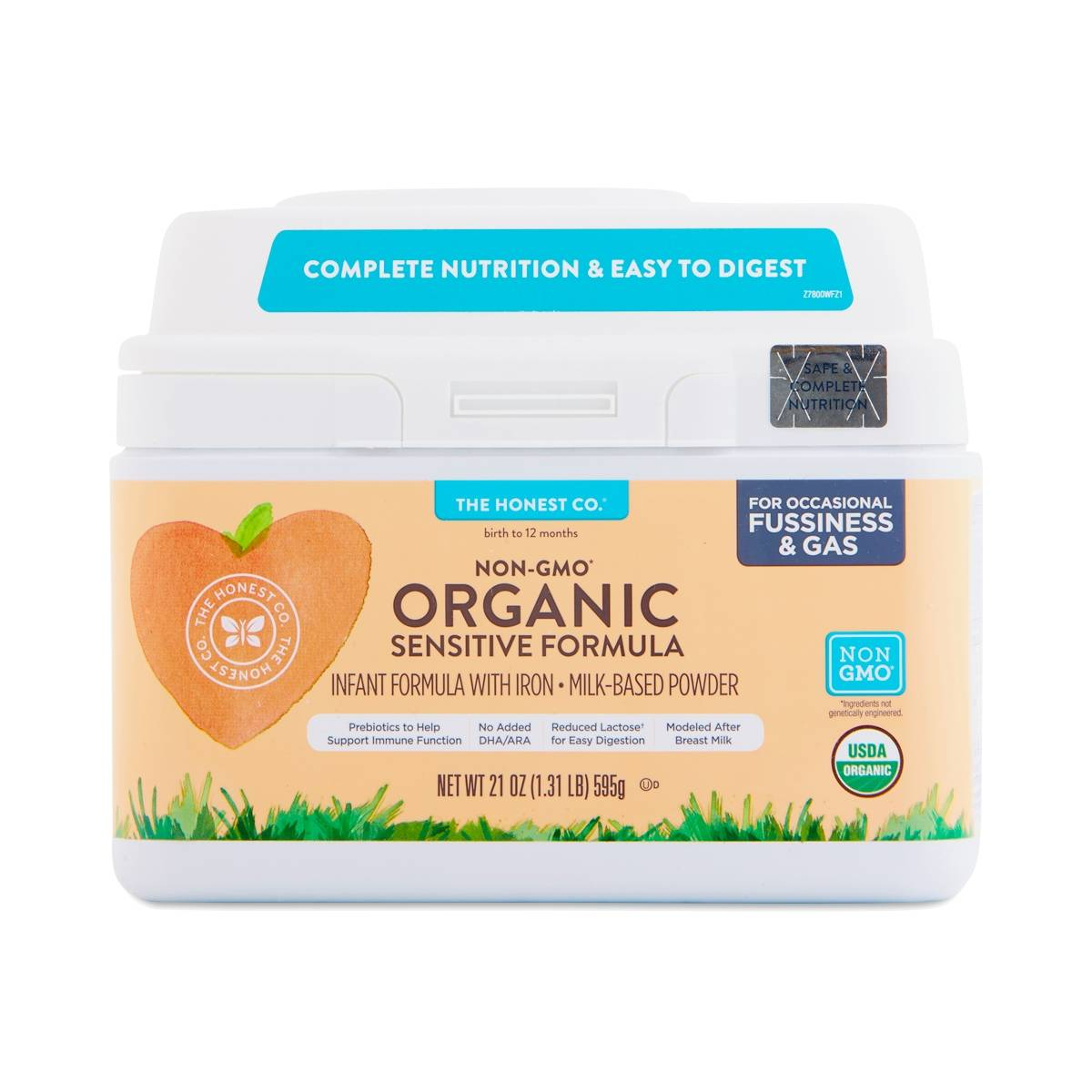 The Honest Co Sensitive Organic Infant Formula Thrive