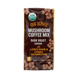 Organic Mushroom Ground Coffee Mix with Lion's Mane & Chaga