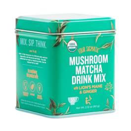 Mushroom Matcha with Lion's Mane