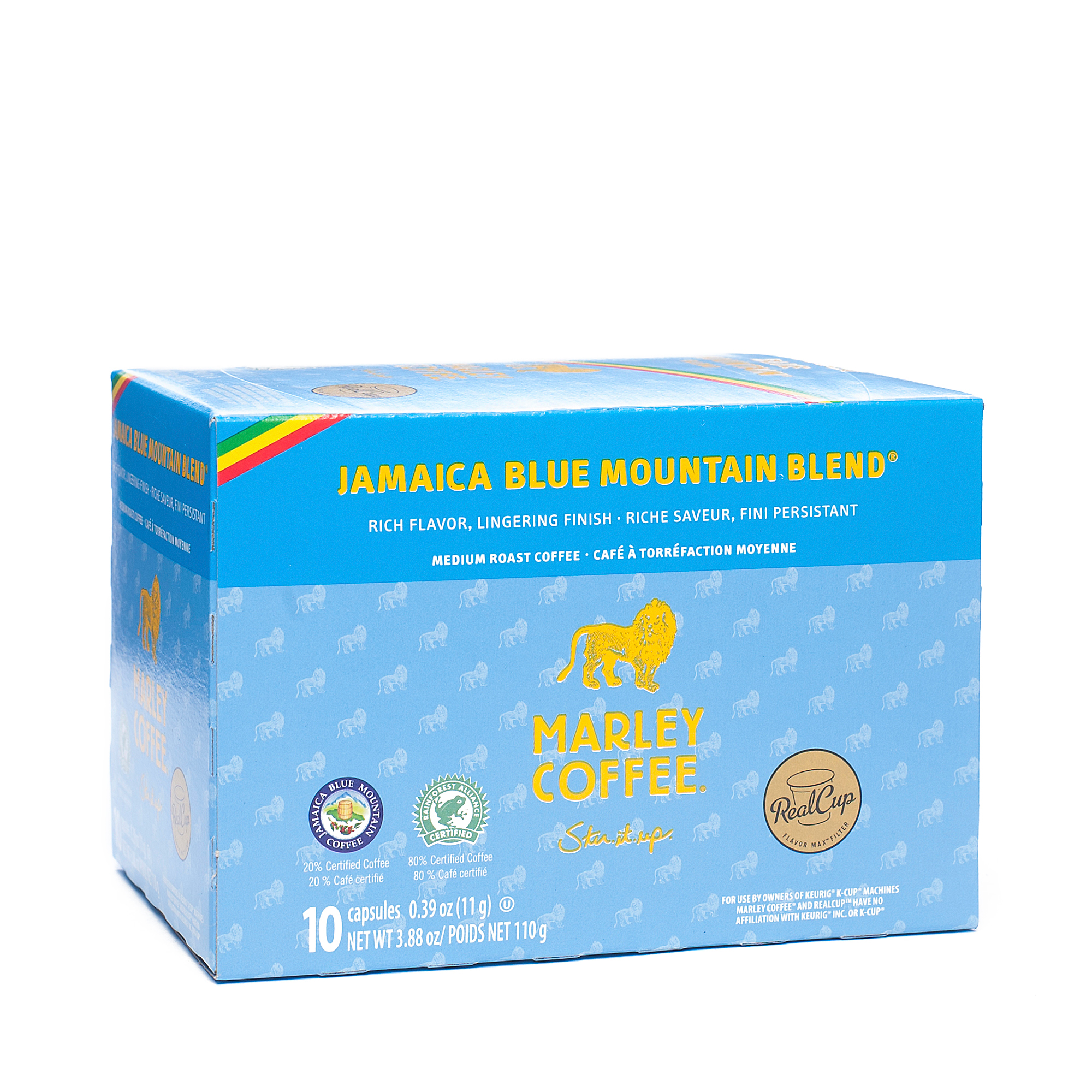 Marley Coffee Smile Jamaica Coffee - Realcup Single Serve...