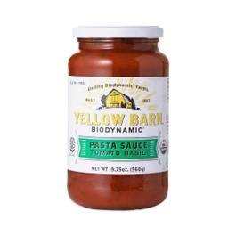 Biodynamic Tomato Basil Pasta Sauce