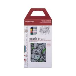 Silicon Mark-Mat, Garden Play + 4 Markers