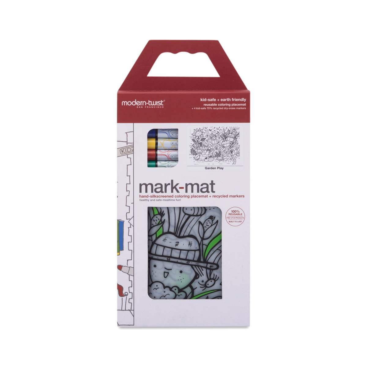 Garden Play Mark Mat 4 Markers By Modern Twist Thrive