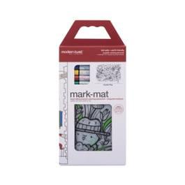 Silicon Mark-Mat, Garden Play + 4 Markers