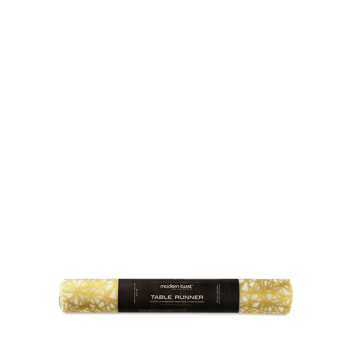 Charmant Twine Silicon Table Runner, Gold. Thrive · Home · Modern Twist