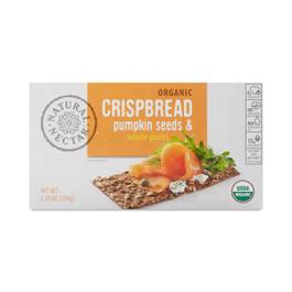 Organic Pumpkin Seeds & Whole Grains Crispbread