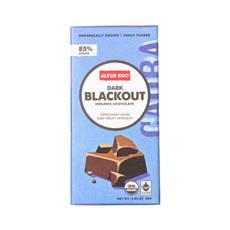 Dark Blackout Organic Chocolate Bar