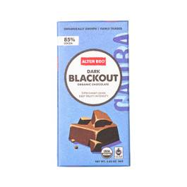Dark Blackout Organic Chocolate Bar