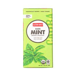 Dark Mint Organic Chocolate Bar