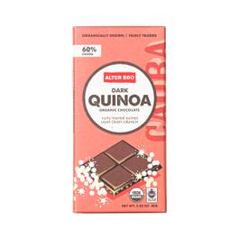 Dark Quinoa Organic Chocolate Bar
