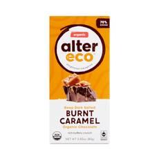 Dark Salted Burnt Caramel Organic Chocolate Bar