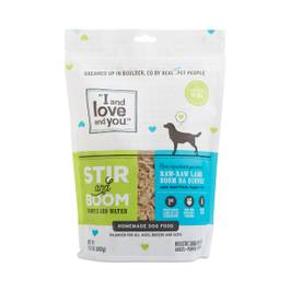 Raw Raw Lamb Boom Ba Dinner, Grain Free Dehydrated Dog Food