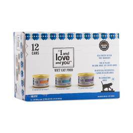 Wet Cat Food Multi-Pack: Cod, Chicken & Turkey