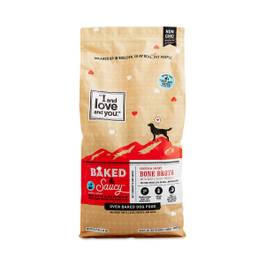 Baked & Saucy Dry Dog Food, Beef + Sweet Potato 10+ lbs