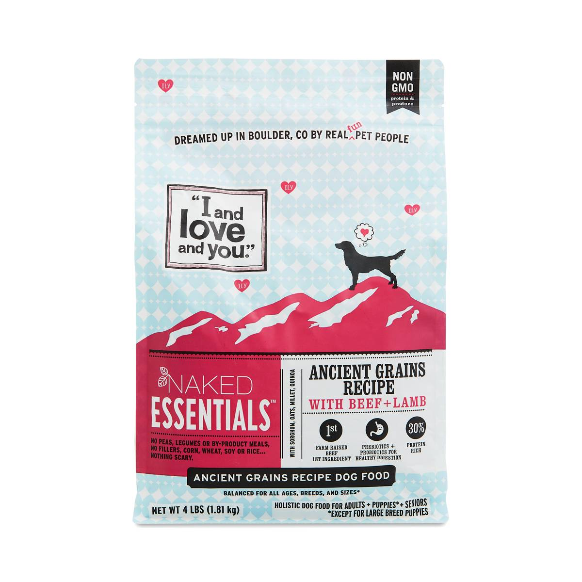 I AND LOVE AND YOU Naked Essentials Grain-Free Chicken
