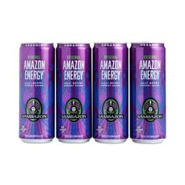 Amazon Energy Drink - Acai Berry, 4-Pack