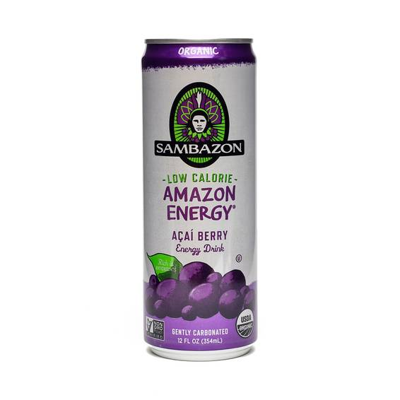 Amazon Low Calorie Energy Drink - Acai Berry