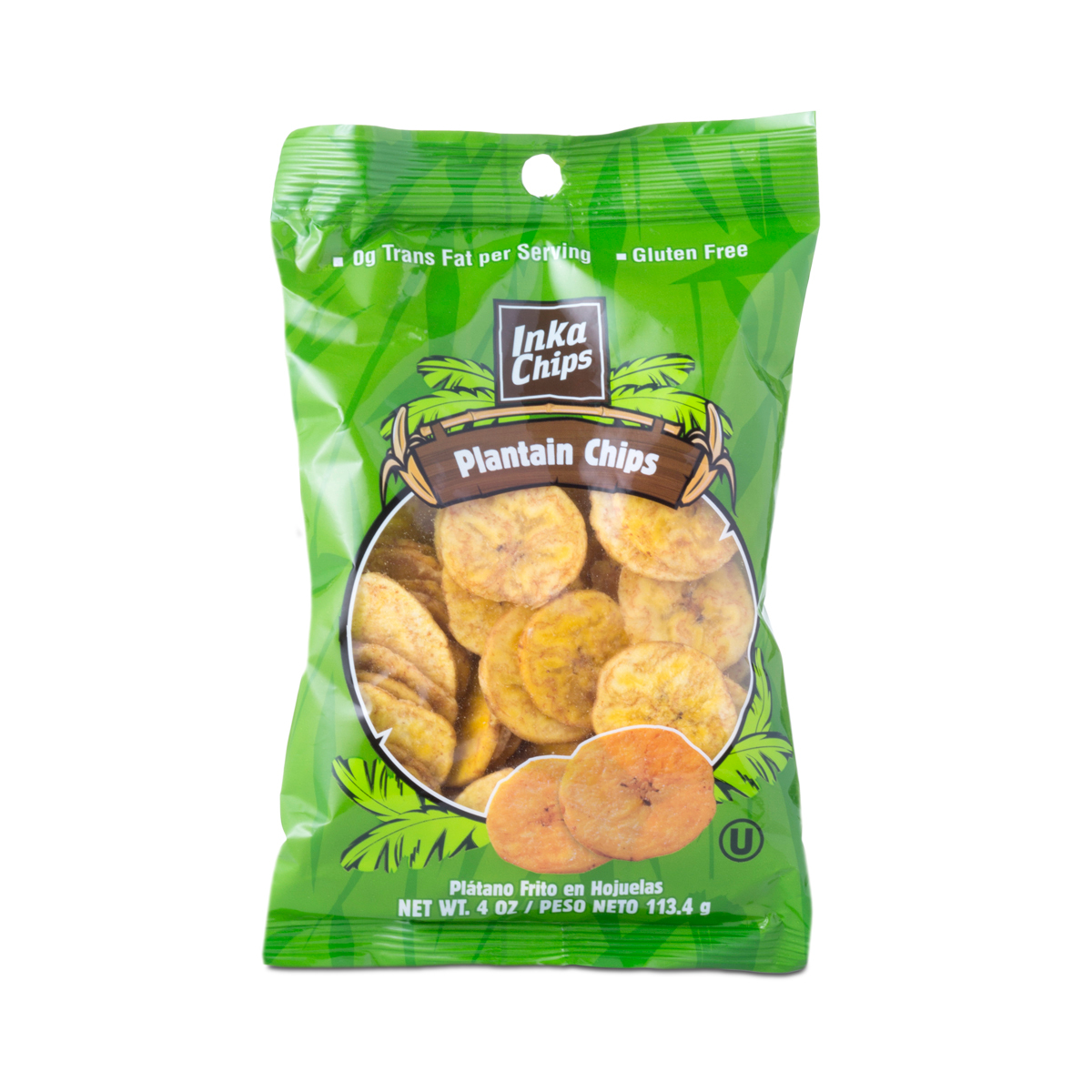 Inka Crops Plantain Chips 4 oz bag