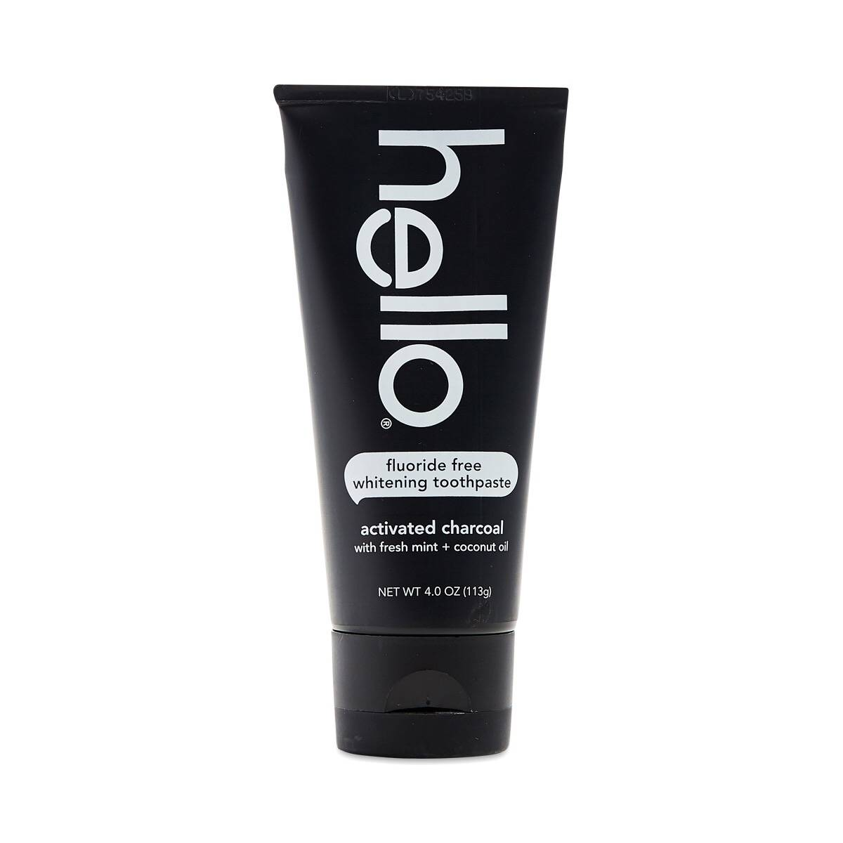 activated charcoal whitening toothpaste by hello thrive market. Black Bedroom Furniture Sets. Home Design Ideas