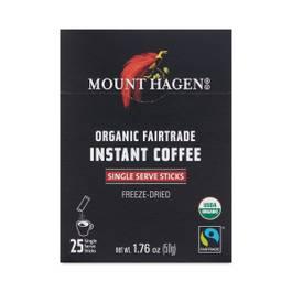 Organic Instant Coffee- Single Serve Sticks