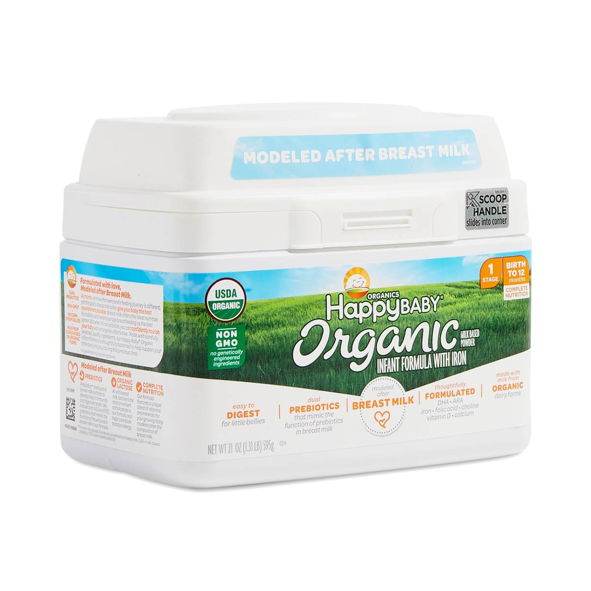Happy Family Happy Baby Organic Infant Formula With Iron