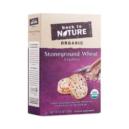 Organic Stoneground Wheat Crackers