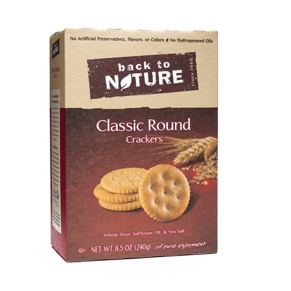 Classic Round Crackers