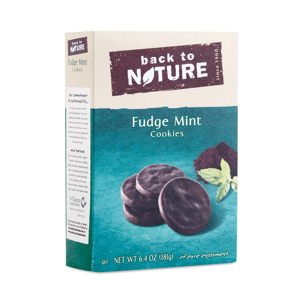 Fudge Mint Cookies By Back To Nature Thrive Market