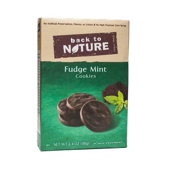 Fudge Mint Cookies