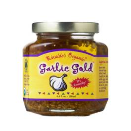 Crunchy Organic Garlic Olive Oil Mix
