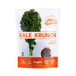 Kale Krunch Quite Cheezy Kale Chips