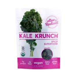 Kale Krunch Spicy Superfood Kale Chips