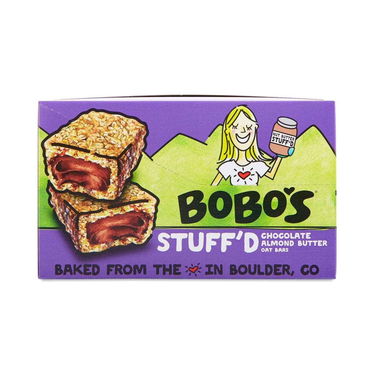 Bobo's Oat Bars Chocolate Almond Butter Filled Oat Bars twelve 2.5 oz bars
