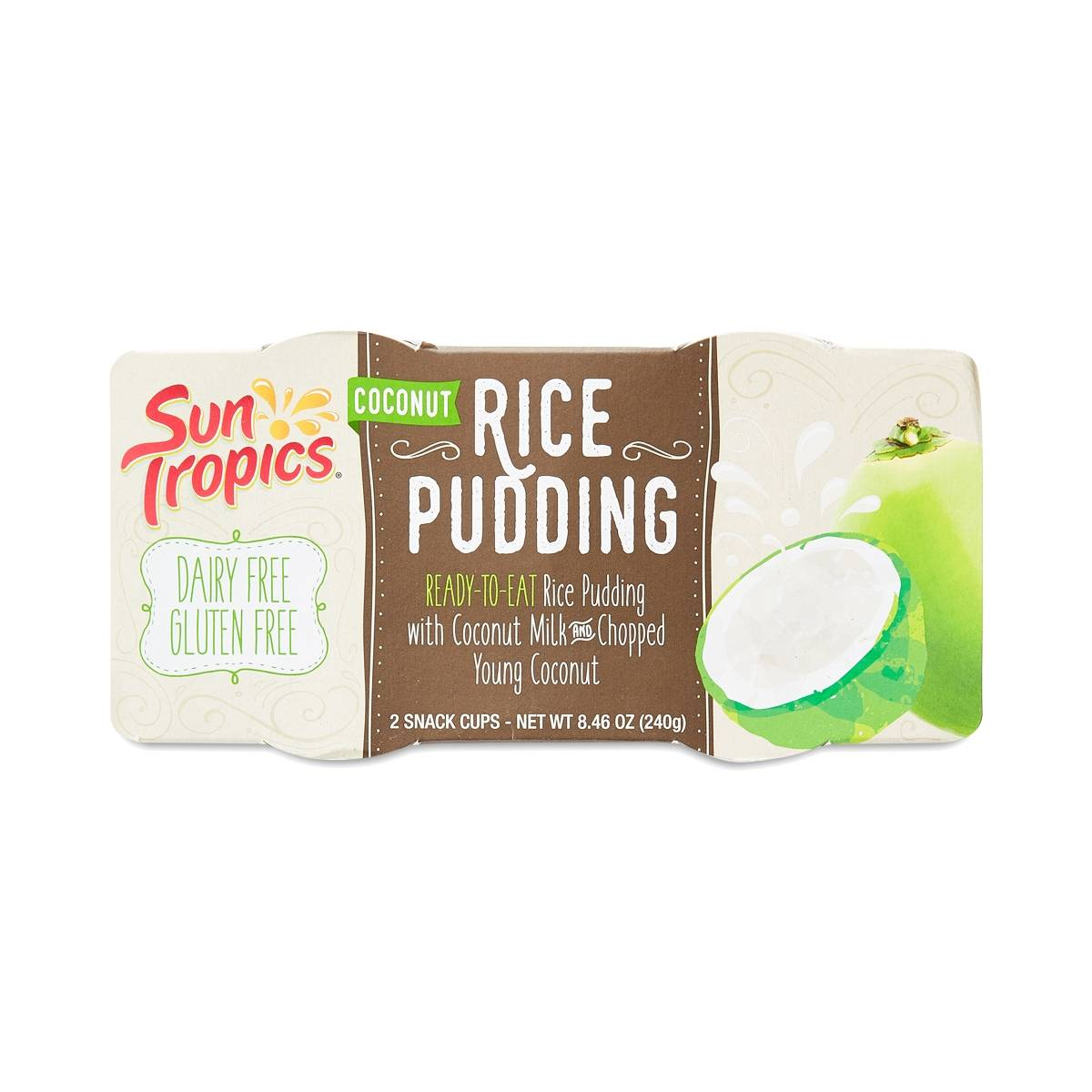 Coconut Rice Pudding By Sun Tropics Thrive Market