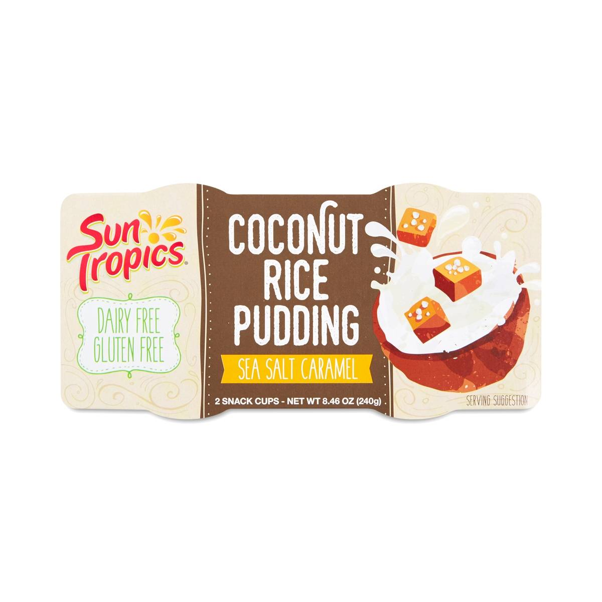 Sun Tropics Sea Salt Caramel Coconut Rice Pudding - Thrive Market