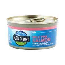 Non-GMO Wild Alaskan Pink Salmon