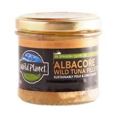 Non-GMO Wild Albacore Tuna Fillets In Olive Oil