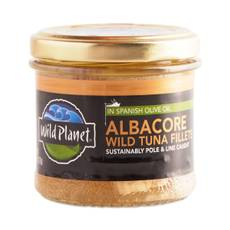 Non-GMO Wild Albacore Tuna Fillets In Olive Oil