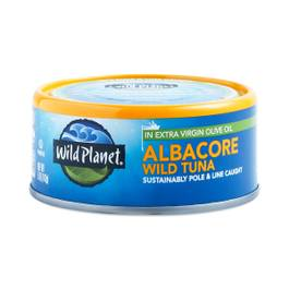 Non-GMO Wild Albacore Tuna In Extra Virgin Olive Oil