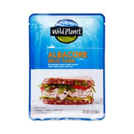 Wild Albacore Tuna Sea Salt Pouch