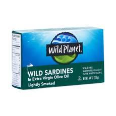 Non-GMO Wild Sardines in Extra Virgin Olive Oil