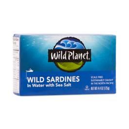 Non-GMO Wild Pacific Sardines in Water
