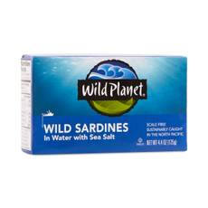 Non-GMO Wild Pacific Sardines in Water