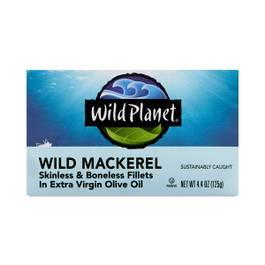 Wild Mackerel Fillets in Extra Virgin Olive Oil