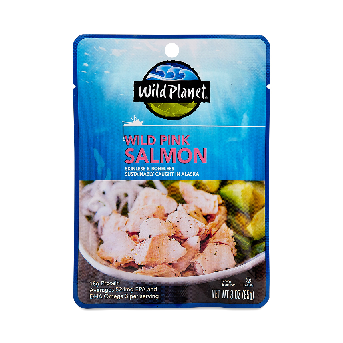 Wild Planet Wild Pink Salmon 2 oz pouch