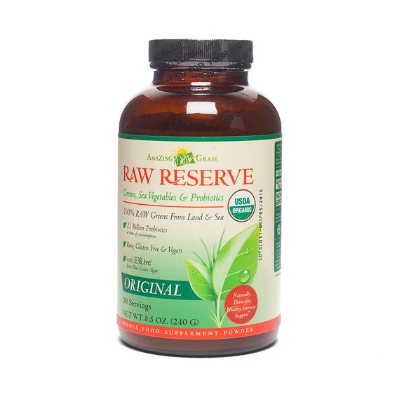 Raw Reserve Green Superfood Powder